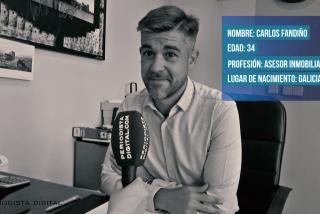 """Carlos Fandiño: """"Lo más raro que he vivido en mi trabajo es que a los propietarios se les olvide ir a firmar"""""""