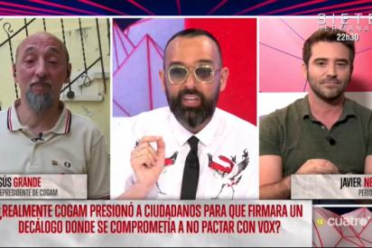 Negre deja con el culo al aire a la sectaria COGAM mostrando la prueba definitiva de que los gays son pastoreados por la izquierda