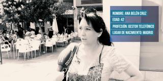 """Ana Belén Cruz: """"Lo más raro que he visto en mi trabajo es que me llame un cliente borracho"""""""