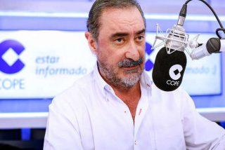 """Carlos Herrera estalla contra Marlaska: """"No le importaba que su compañera de partido le llamara maricón"""""""