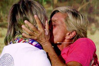 El palo de Chelo García Cortés a 'Sálvame' tras el apasionado reencuentro con su mujer