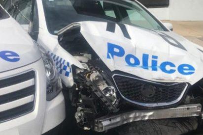 A lo 'Breaking bad': Detienen a un hombre que llevaba 140 millones de dólares en metanfetaminas tras estrellarse contra un coche de policía en Australia