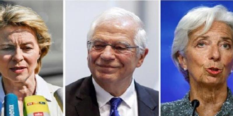 Reparto de sillones en Europa: La ministra de Defensa alemana será la primera presidenta de la Comisión Europea y Borrell, jefe de la diplomacia