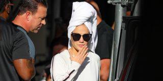 Jennifer Lopez le lía la toalla a la cabeza y se lanza en chanclas a conquistar Nueva York