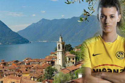 Desaparece esta futbolista suiza mientras nadaba en el lago de Como