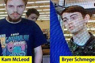 Estos dos jóvenes pasan de ser considerados desaparecidos a sospechosos de los asesinatos en Canadá