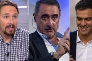 Carlos Herrera desmonta al 'victimista' Sánchez y su sucio plan para permanecer en La Moncloa