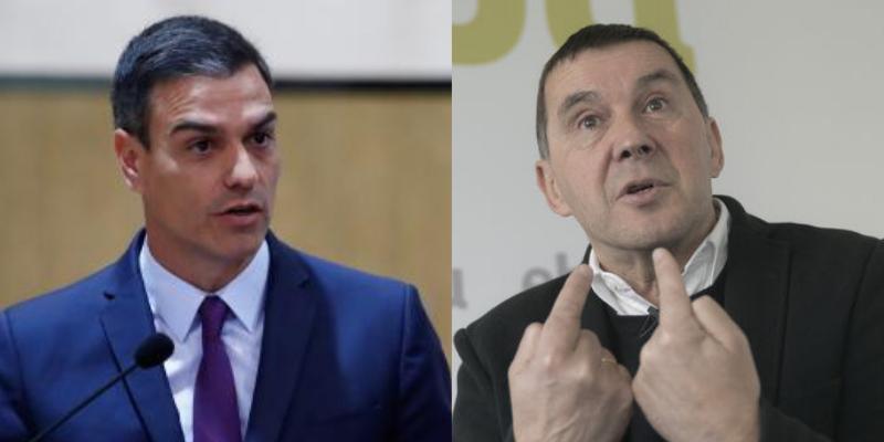 Sánchez se vanagloria de la derrota de ETA en el 22 aniversario del secuestro de Miguel Ángel Blanco y el tuit le explota en toda la jeta