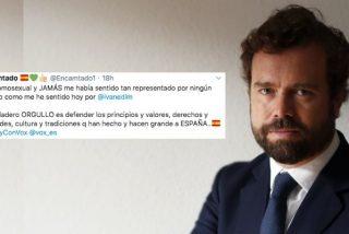 Glorioso 'zasca' de Espinosa de los Monteros a los 'progres' que se apoderan del movimiento LGTBI