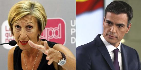 Rosa Díez entra en erupción con los pactos diabólicos de Pedro Sánchez y critica la repugnancia de encamarse con un Podemos que no reniega de ETA