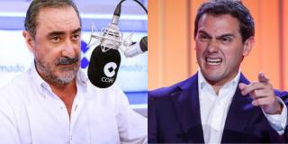 Carlos Herrera le endilga a Rivera el muerto de haber dinamitado el Gobierno de derechas en Murcia