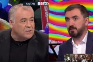 Ferreras, incómodo con la miserable justificación de Nacho Escolar de la agresión a C's en el Orgullo Gay