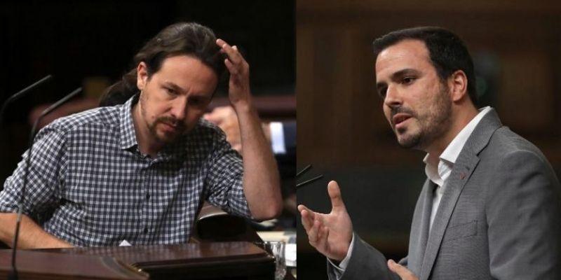 El triste 'entusiasmo' con el que aplaude Garzón a su amigo Iglesias