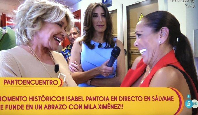 El verdadero 'mayordomo' de Isabel Pantoja no es Chelo García Cortés… ¡Es Mila Ximénez!
