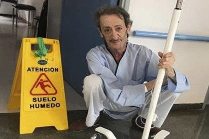 La supuesta última foto en vida de Eduardo Gómez tirado en el hospital causa un terremoto en la red