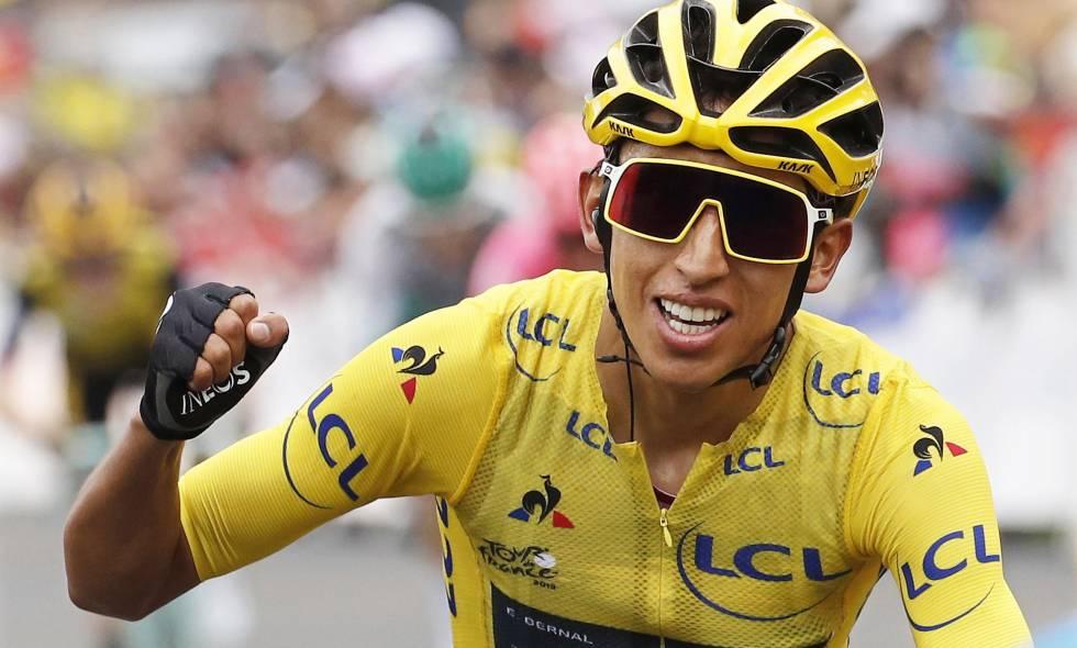 El colombiano Egan Bernal hace Historia y gana a lo grande el Tour de Francia