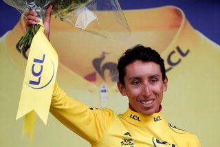 El colombiano Egan Bernal llega de amarillo a París y es el ganador virtual del Tour de Francia 2019