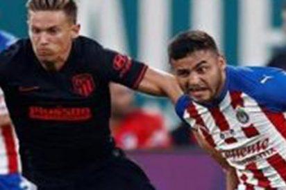 El Atlético de Madrid vence ante el Chivas en los penaltis