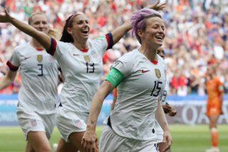 El equipo femenino de EEUU, reina sobre todo mundo del fútbol por cuarta vez