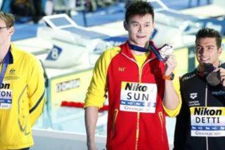 El nadador Mack Horton se niega a unirse al rival Sun Yang en el podio