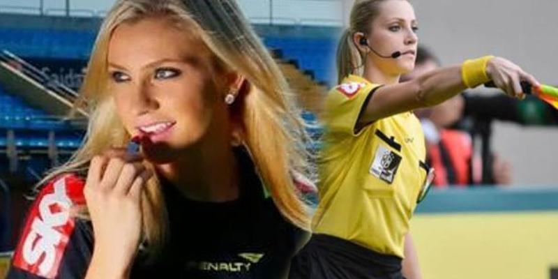 ¿Sabes que repugnante propuesta ha recibido Fernanda Colombo, ex árbitra de fútbol?