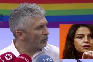 El ministro Grande-Marlaska 'alimenta' el odio gay contra Cs e Ines Arrimadas le insta a dimitir por sectario e irresponsable