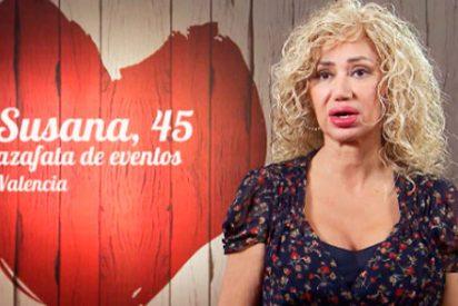 Susana, la comensal de 'First Dates' que se lo tiene 'muy creído' y aspira a cazar un millonario
