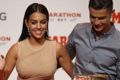 Georgina Rodríguez vuelve loco a Cristiano con este mini pantaloncito