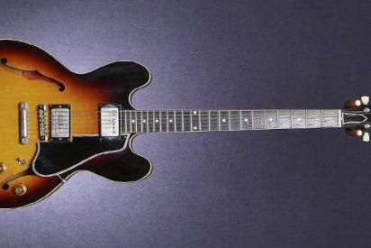 La Gibson ES-335; sonido elegante y brillante