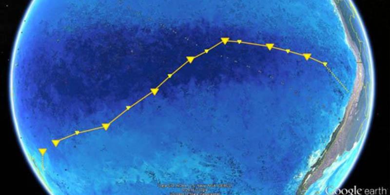 """¿Sabes qué es el Giro del Pacífico Sur, el """"desierto marino"""" considerado """"el lugar más hostil en todo el océano""""?"""