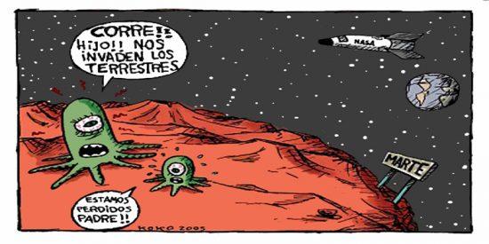 Humor: los 3 chistes sobre extraterrestres de este domingo 7 de julio de 2019