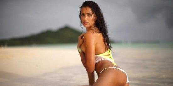 Pillan a Irina Shayk en Ibiza al natural 'sin photoshop'