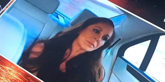La DGT y miles de conductores indignados con T-5 por lo que se ve en esta imagen de Isabel Pantoja