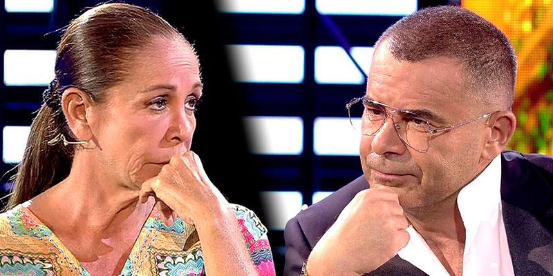 El cara a cara lleno de 'zascas' entre Isabel Pantoja y Jorge Javier Vázquez tras retomar su amistad