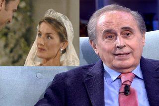 Jaime Peñafiel se mete en la cama y la boda de Letizia y Felipe VI