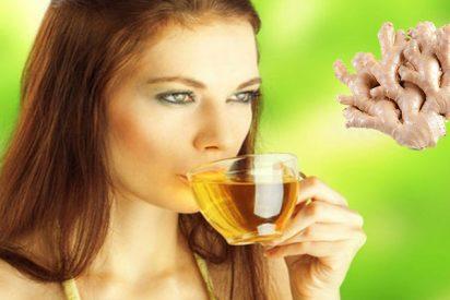 Cómo perder peso con té de jengibre