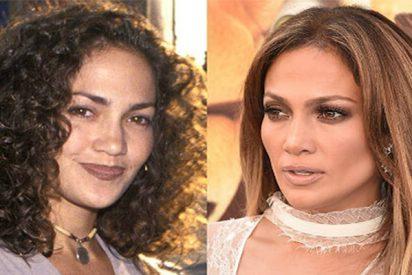 Antes y después: Jennifer López ha cambiado (y mucho) desde sus comienzos