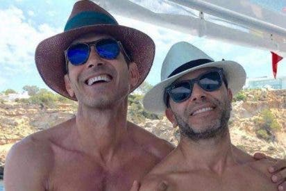 Hacienda mete un palo de 2,8 millones a Jesús Vázquez y su marido, Roberto Cortes, que los deja tiritando