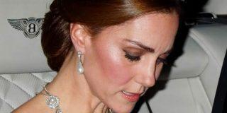 Kate Middleton hundida, abandonó antes de tiempo y entre lágrimas, la cena de gala con Trump por la supuesta amante de su marido