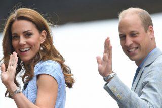 Kate Middleton deslumbra vestida de celeste en la final masculina de Wimbledon