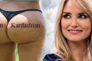 Alba Carrillo quiere tener un culo como el de Kim Kardashian; no necesita cirugía, basta con hincharse a bocadillos de panceta