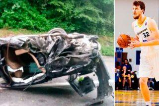 Kuzmic, ex jugador de baloncesto del Real Madrid, en estado crítico tras sufrir un espeluznante accidente de tráfico