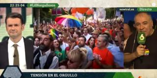 Iñaki López y García Ferreras incendian laSexta enalteciendo a los agresores de Ciudadanos durante el orgullo gay: ¿Harían lo mismo en Cuba e Irán?