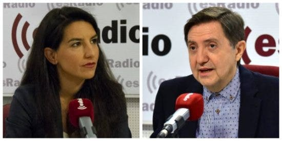 El Quilombo / Losantos firma la paz con 'Los Aristogatos' de VOX en el palco del Bernabéu