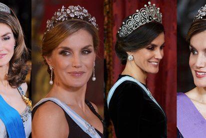 La Reina Letizia y el misterio de la tiara desaparecida