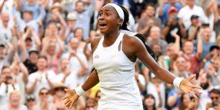 La joven Cori Gauff logra otro juego inolvidable en Wimbledon y desata la euforia del tenis