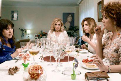 Loles León e Irma Soriano a la gresca en la cena de Rosa Benito