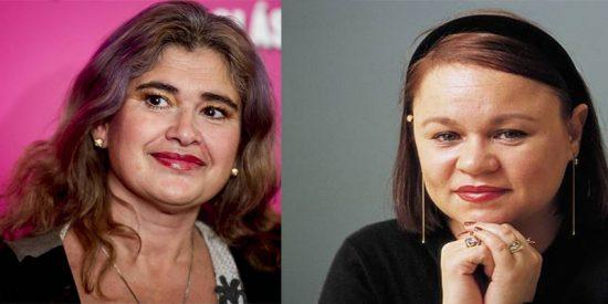 Pelea guarrindonga en Twitter entre las 'verduleras' Lucía Etxebarría y Zoé Valdés