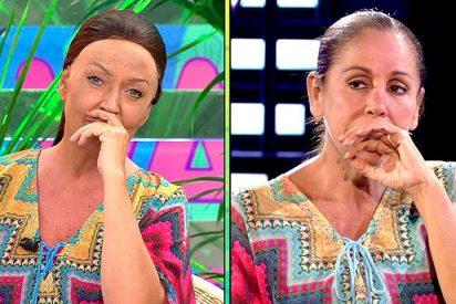 Nueva 'bufonada' en 'Sálvame' con Lydia Lozano imitando a Isabel Pantoja