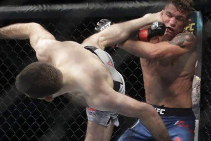 El gesto de este luchador de MMA después de cada victoria se vuelve viral en la Red